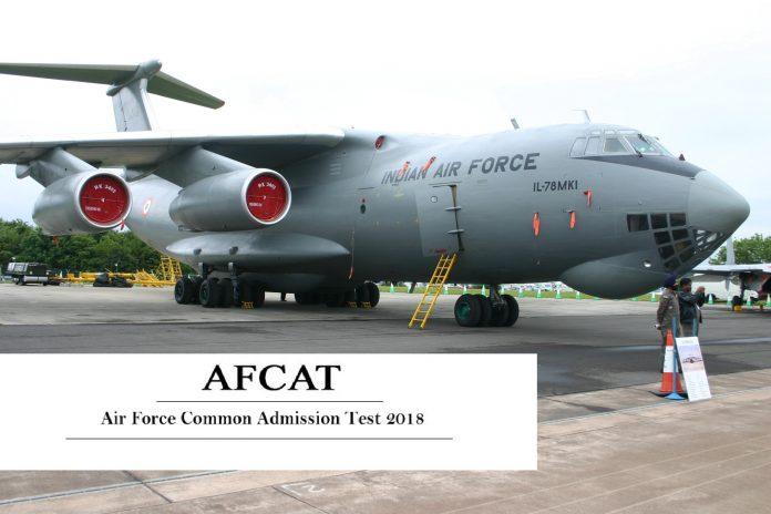 Air Force India AFCAT 2018