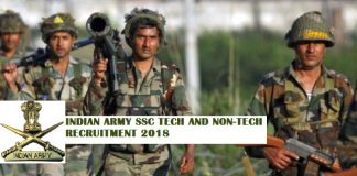 Indian Army Tech and TGC jobs 2018