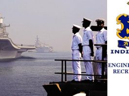 Indian Navy Engineer Officer Recruitment 2018