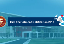 ESIC Notification 2018