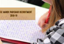 UPSSSC Recruitment 2018-19